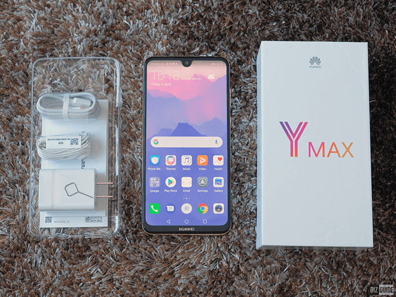 Sale Alert: Huawei Y Max will be down to PHP 6,495 on 12.12!