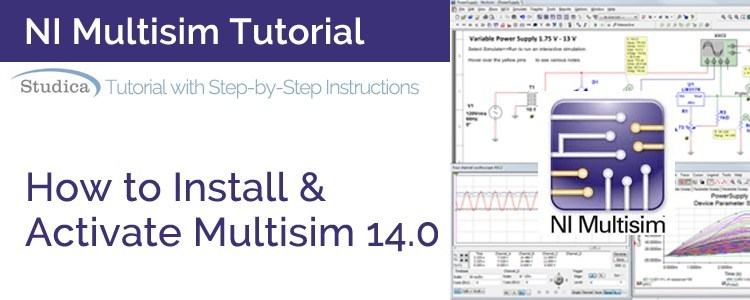 Download NI Multisim 14.0.1 mới nhất – Phần mềm thiết kế mạch điện tử chuyên nghiệp