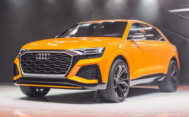 Novo Audi Q8: novo teaser revelado - vídeo