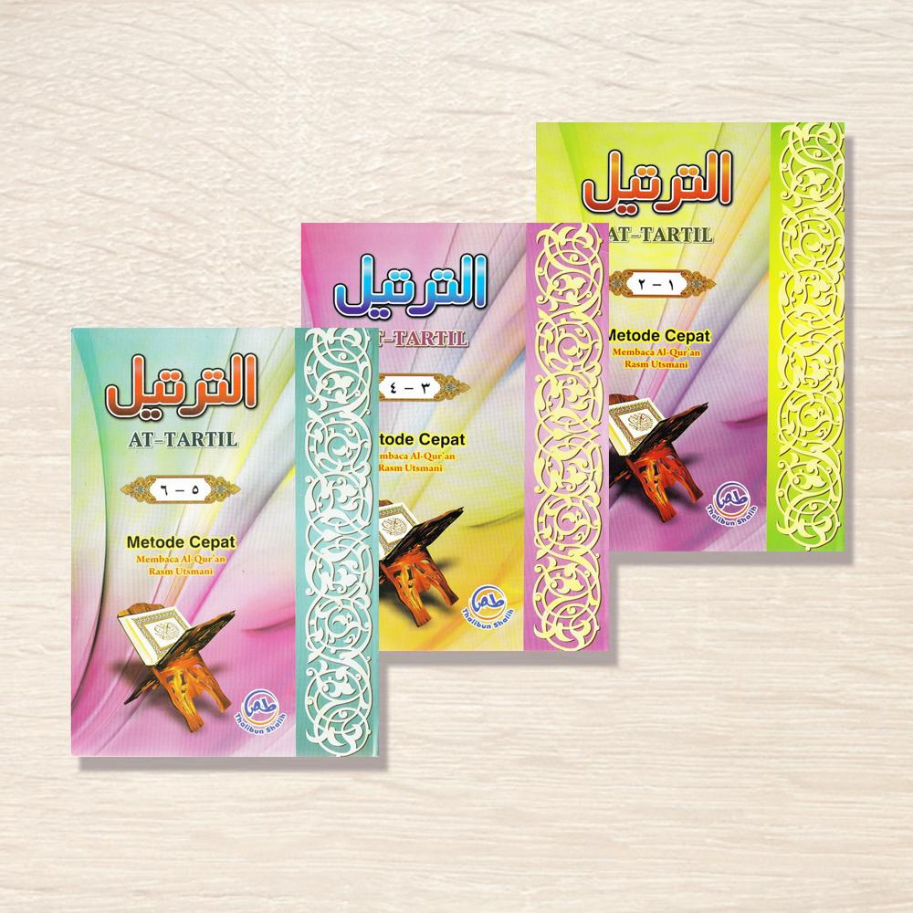 Buku At Tartil Jilid 1-6 Metode Cepat Membaca Al Quran Rasm Utsmani