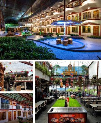 Hotel Kea Garden suasana