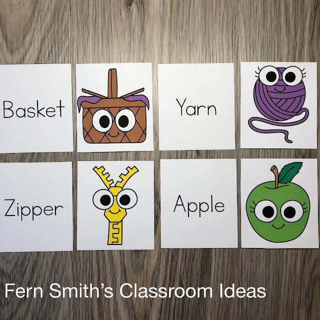 Click Here to Download These Three Piece Puzzle Alphabet Literacy Center Games For Your Class Today!