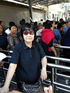 失踪一个月的上海维权人士陈伟华昨从看守所获释