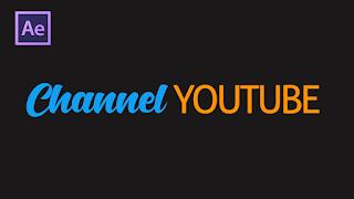 Membuat Opening Video Youtube - Tutorial After Effect Teks Motion Bahasa Indonesia