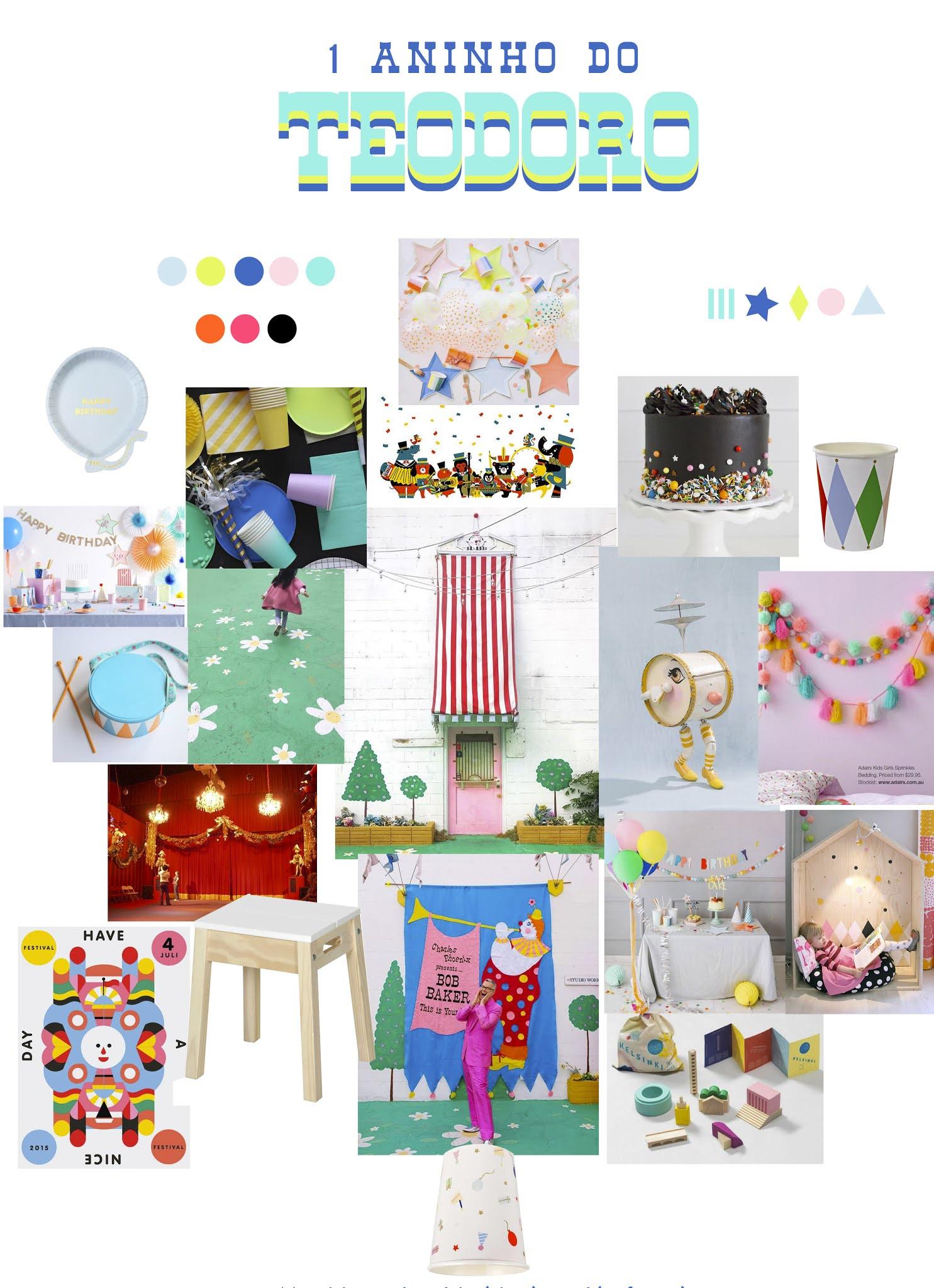 decoracao simples e barata festa aniversario infantil 1 ano colorida temas criativos masculinos menino teatro marionetes musica blog do math br