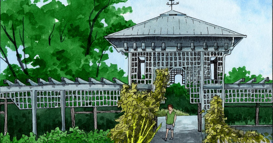 Michael 39 s scroll montreal botanic garden le jardin for Camping le jardin botanique limeray