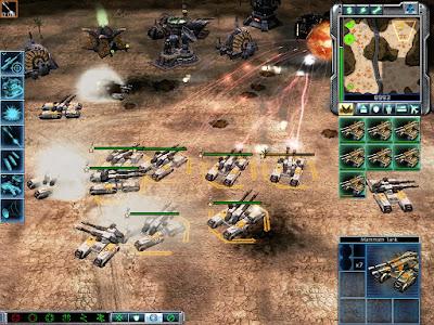 Command & Conquer 3: Tiberium Wars Game Screenshot 2007