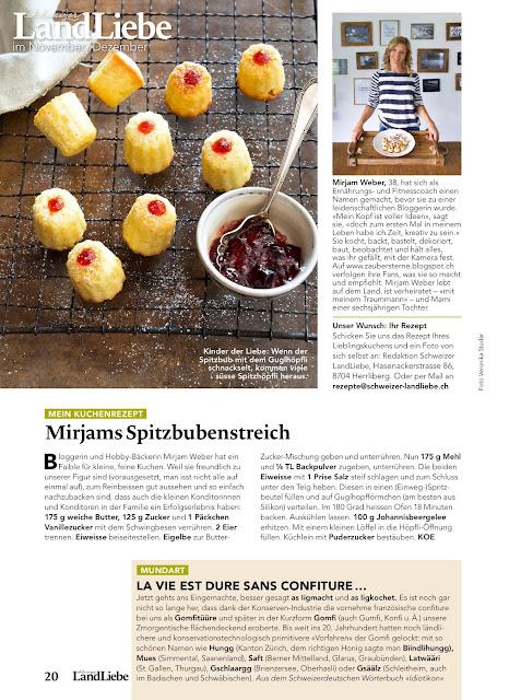 Landliebe mein Kuchenrezept, Blog Schweiz, Foodblog Schweiz