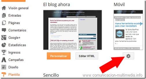 Ocultar Adsense en móvil - Blogger