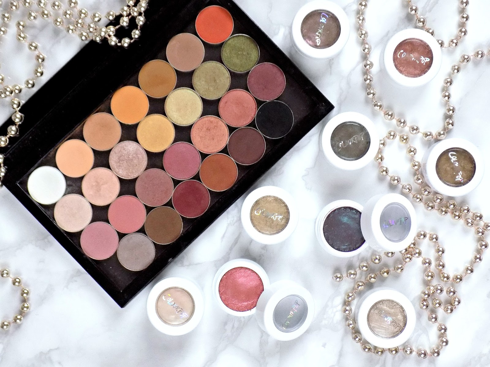 My favourite beauty discoveries of 2016 - makeup geek eyeshadows