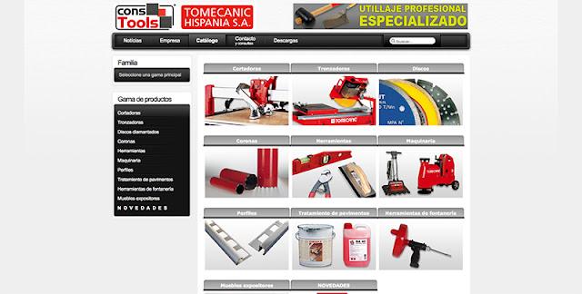 Tomecanic página web