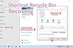 Memunculkan Icon Recycle Bin yang Hilang di Windows 10/8/7