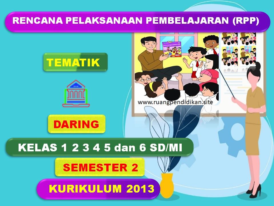 RPP Daring Tematik Semester 2