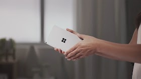 New video shows Microsoft Surface Duo's Peek feature