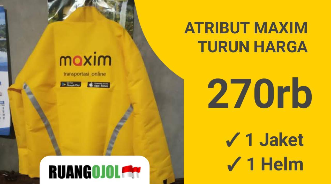 Harga Atribut Maxim Turun, Driver Semakin Semangat!