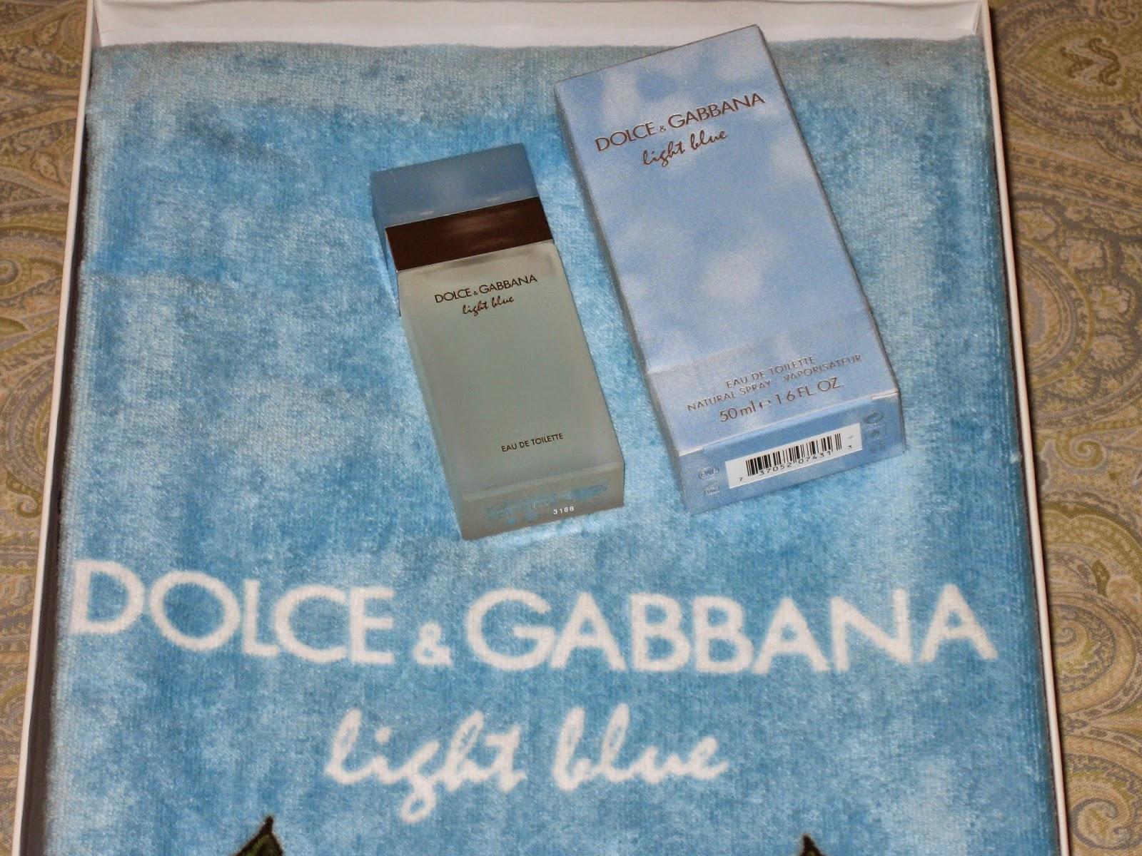 dolce gabbana light blue edt spray gwp summer 2014. Black Bedroom Furniture Sets. Home Design Ideas