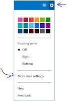 Inbox options\settings