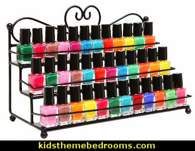 nail polish - decorating nails - decorate your nails - nail salon decorating ideas - nail display racks - nail salon bedroom theme decor - nail polish bedding - nail polish themed pillows - nail salon wall decals - Manicure Bedroom nail art - Nail polish bed sets - Nail polish comforter