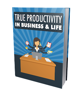 True Productivity in Business %2526 Life Cover