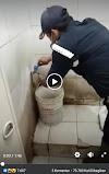 Viral, Video Seorang Satpam Uji Alat Tes Covid-19 Pada Air Kran, Hasilnya Mengejutkan