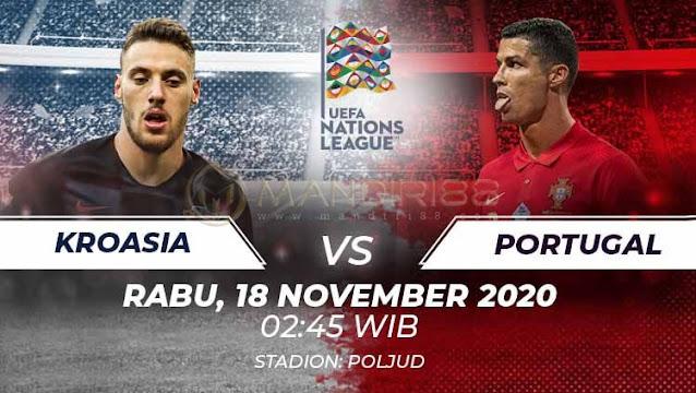 Prediksi Kroasia Vs Portugal, Rabu 18 November 2020 Pukul 02.45 WIB @ Mola TV