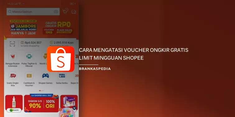 Cara Mengatasi Voucher Gratis Ongkir Limit Mingguan Shopee