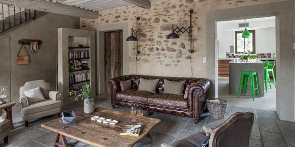 Stunning Deco Moderne Dans Maison Ancienne Pictures  AnsomoneUs