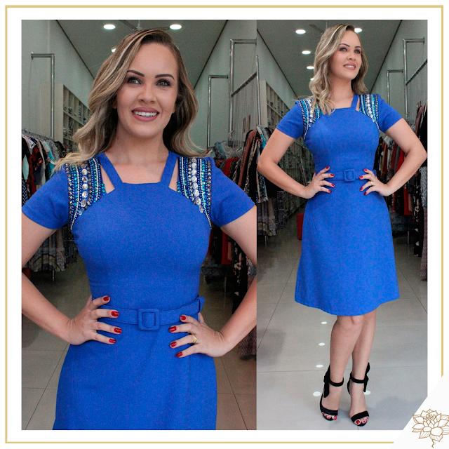 Mulheres elegantes e estilosas não resistem aos nossos vestidos! 😱