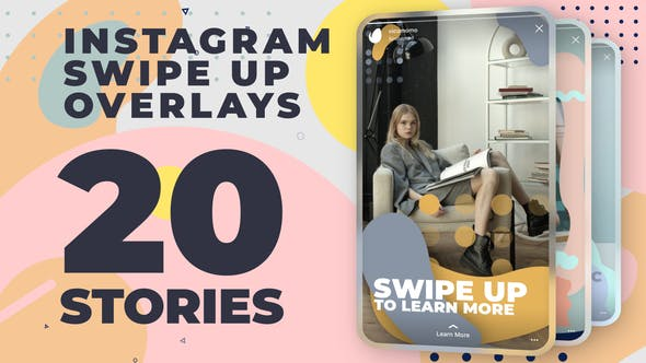 Instagram Swipe Up Stories[Videohive][After Effects][28774368]