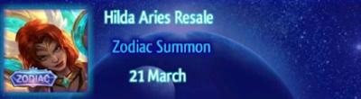 Hilda Aries Resale