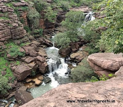 बगदरी जलप्रपात जबलपुर - Bagdari waterfall jabalpur | Bagdari jalprapat jabalpur