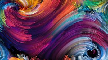Abstract, Swirl, Pattern, Corolful, Digital Art, 4K, #6.2639