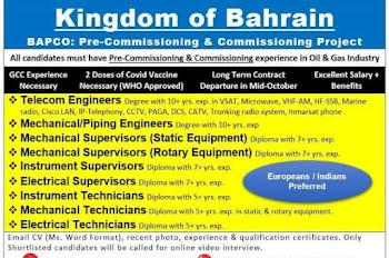 Jobs in Bahrain