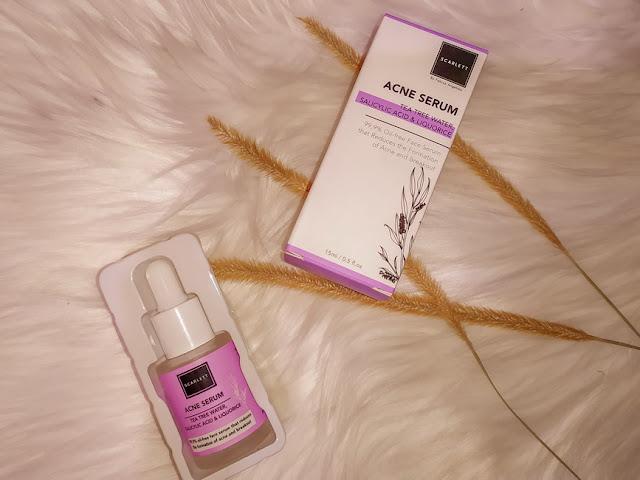 acne serum scarlett