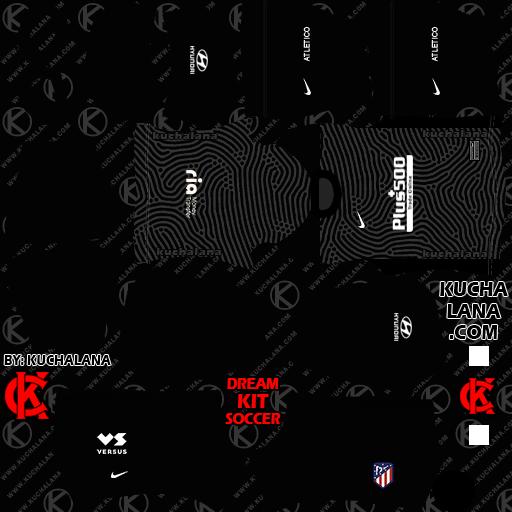 Atletico Madrid Kits 2020 21 Dls20 Kits Kuchalana