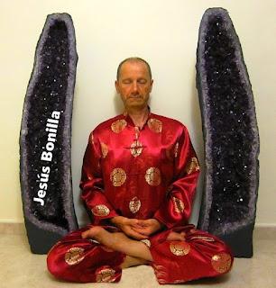 Meditación zen postura zazen