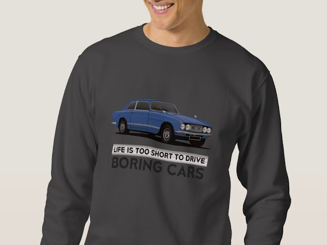 Life is too short to drive boring cars - Bristol 411 s3 - t-shirt