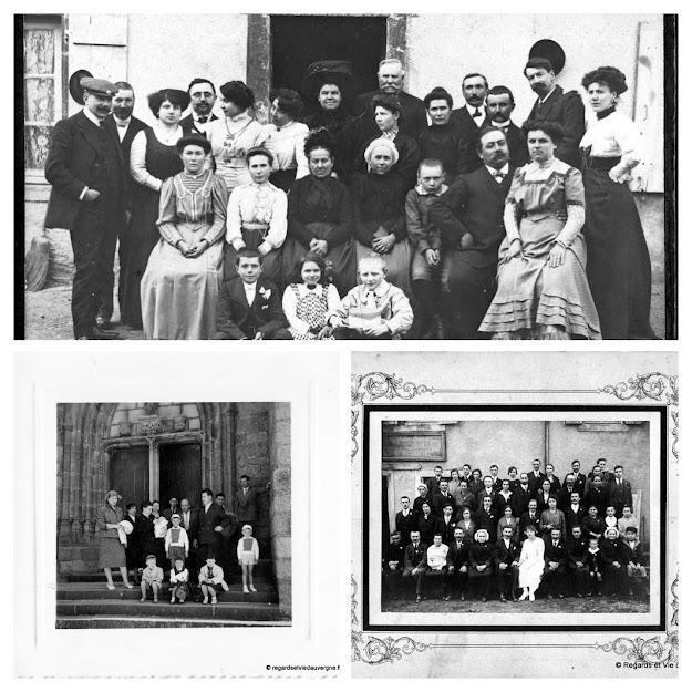 Album photos noir et blanc : Mariages, Communions, Baptêmes...