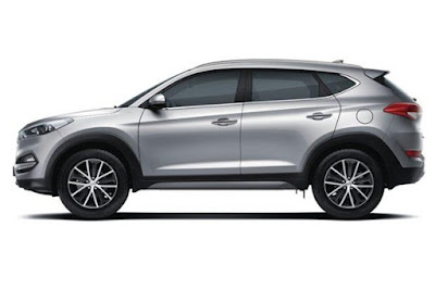 The all new Hyundai Tucson SUV side look Image