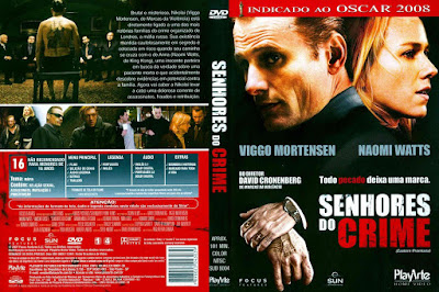 Filme Senhores do Crime (Eastern Promises) DVD Capa