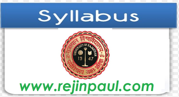 Uniraj Syllabus Download