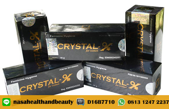 Jual Crystal X Asli Obat Keputihan Harga Murah