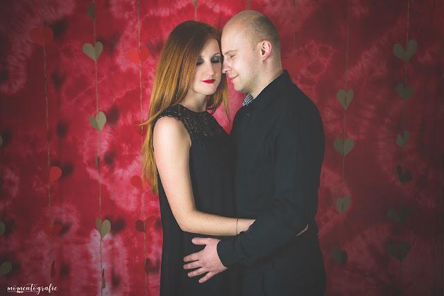 Marta i Grzegorz- sesja walentynkowa