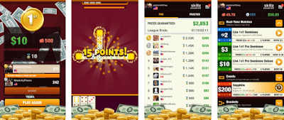 domino uang asli android