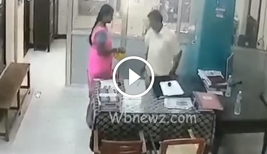 பிறந்தநாள் கேக் கொடுத்தது குத்தமாடா பிக்காலிபயலே… வீடியோ !