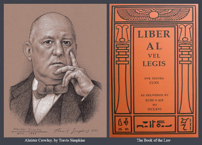 Aleister Crowley. Magick. Thelema. Ordo Templi Orientis. The Book of the Law. by Travis Simpkins