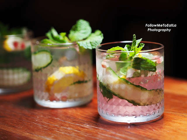 Boss Favourite – Best Item Hendricks, Cucumber Ribbon, Lemon, Mint & Juicy Pomegranate Seeds