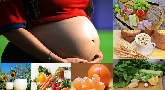 تغذية المرأة الحامل من الشهر الأول الى الشهر التاسع