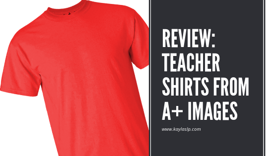 Review: Teacher Shirts from A+ Images