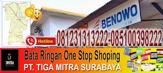 informasi dan pemesanan bata ringan murah di kecamatan benowo surabaya